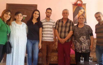 حكايات أمل من وسط المأساة: طلاب كلية بيت لحم للكتاب المقدس يزورون اللاجئين العراقيين في الأردن