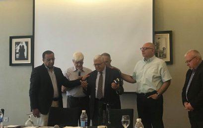 تكريم الدكتور بشارة عوض من قبل رابطة الشرق الأوسط للتعليم اللاهوتي