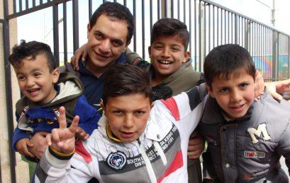 زيارة جمعية الراعي العاشرة للخدمة بين اللاجئين في الأردن!