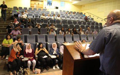 مشاريع تخرّج طلاب قسم الإعلام في كلية بيت لحم للكتاب المقدس