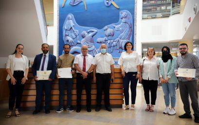 تخريج الفوج الأول من طلاب برنامج الدبلوم المهني المتخصص في اللغة العبرية