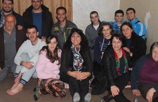 A Palestinian among Iraqi Refugees