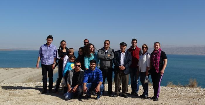 Tour Guide student tells us about her experience participating in a field trip to Jericho