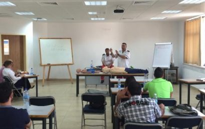 Tour Guide Students Receive First Aid Training