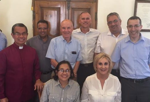 Leaders of World Evangelical Alliance Visit Bethlehem Bible College