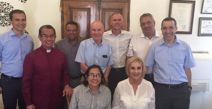 Leaders of World Evangelical Alliance Visit Bethlehem Bible College