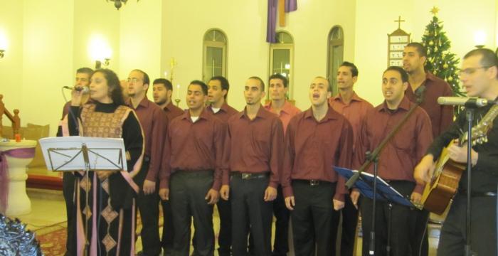 Bethlehem Bible College Choir Christmas Concert in Nablus