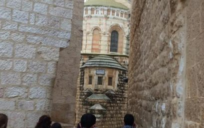 An Educational Trip to Jerusalem for Tour Guide Students