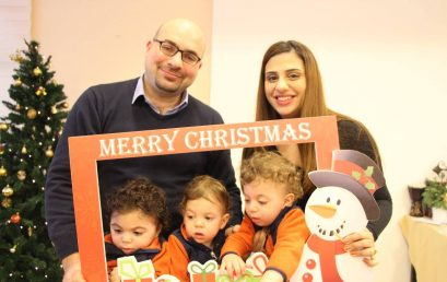 Meet One of Us: Ghadeer Khoury, Mother of Triplets!
