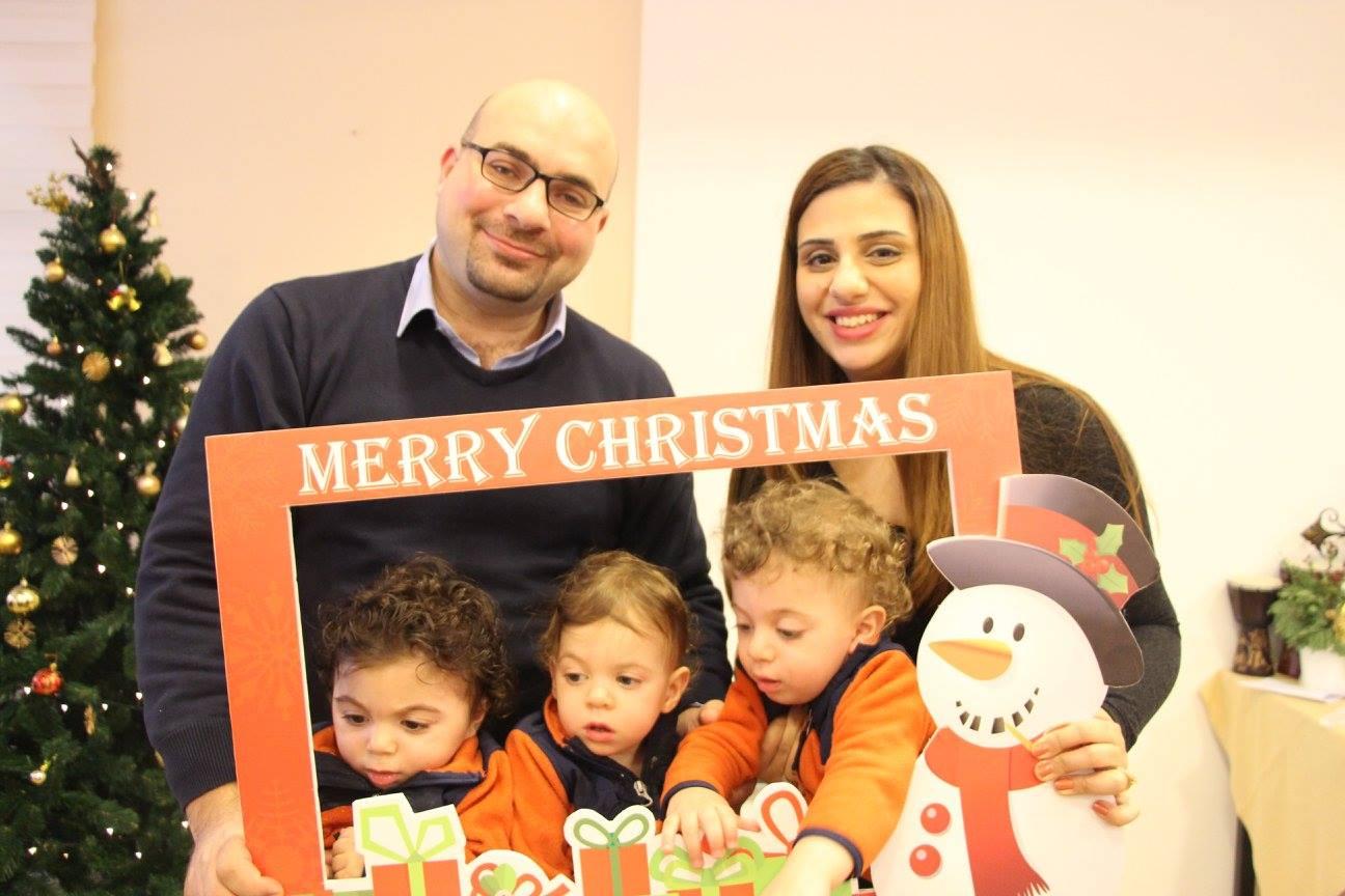 Meet One of Us: Ghadeer Khoury, Mother of Triplets!