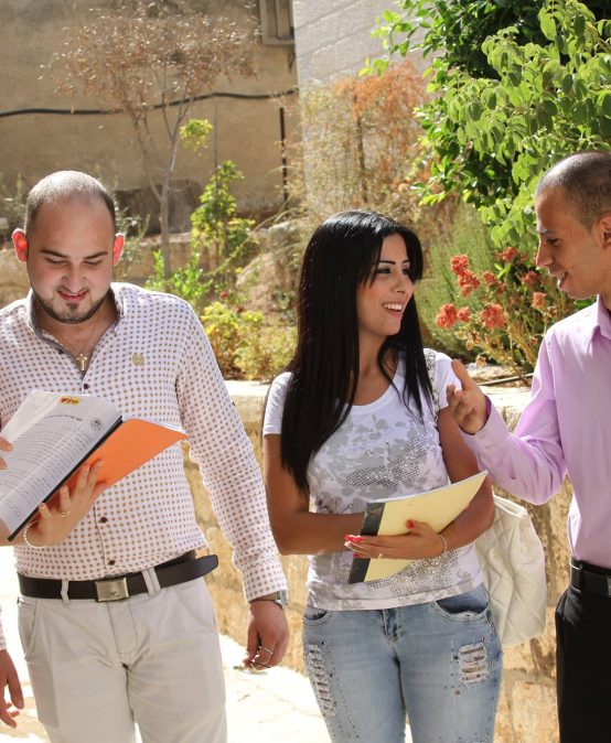 First Palestinian to Take Scholarship at Dutch University