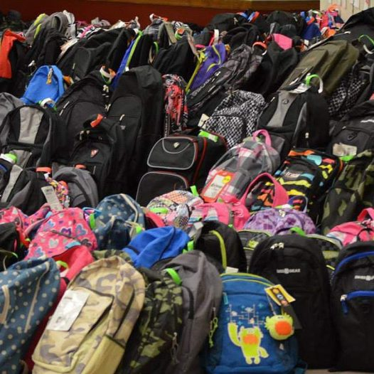 BethBC Graduates Collect School Bags for Needy Students