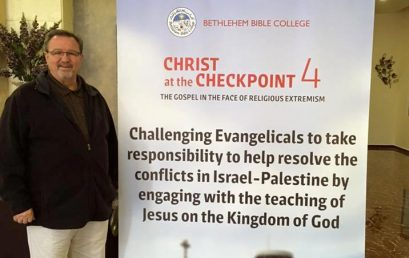 Christ at the Checkpoint: A Very Personal Perspective