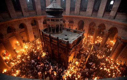 Palestinian Easter at the Church of the Holy Sepulchre
