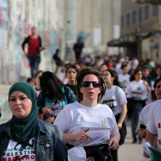 6th Palestine Marathon: We Don't Run for a Cause; The Run is The Cause!