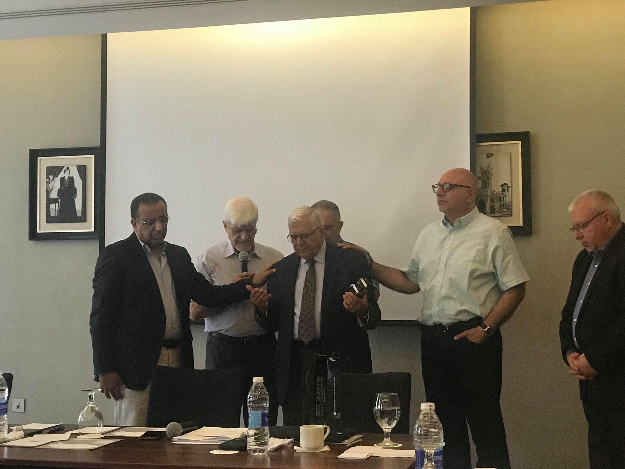 Dr. Bishara Awad Honored by MEATE