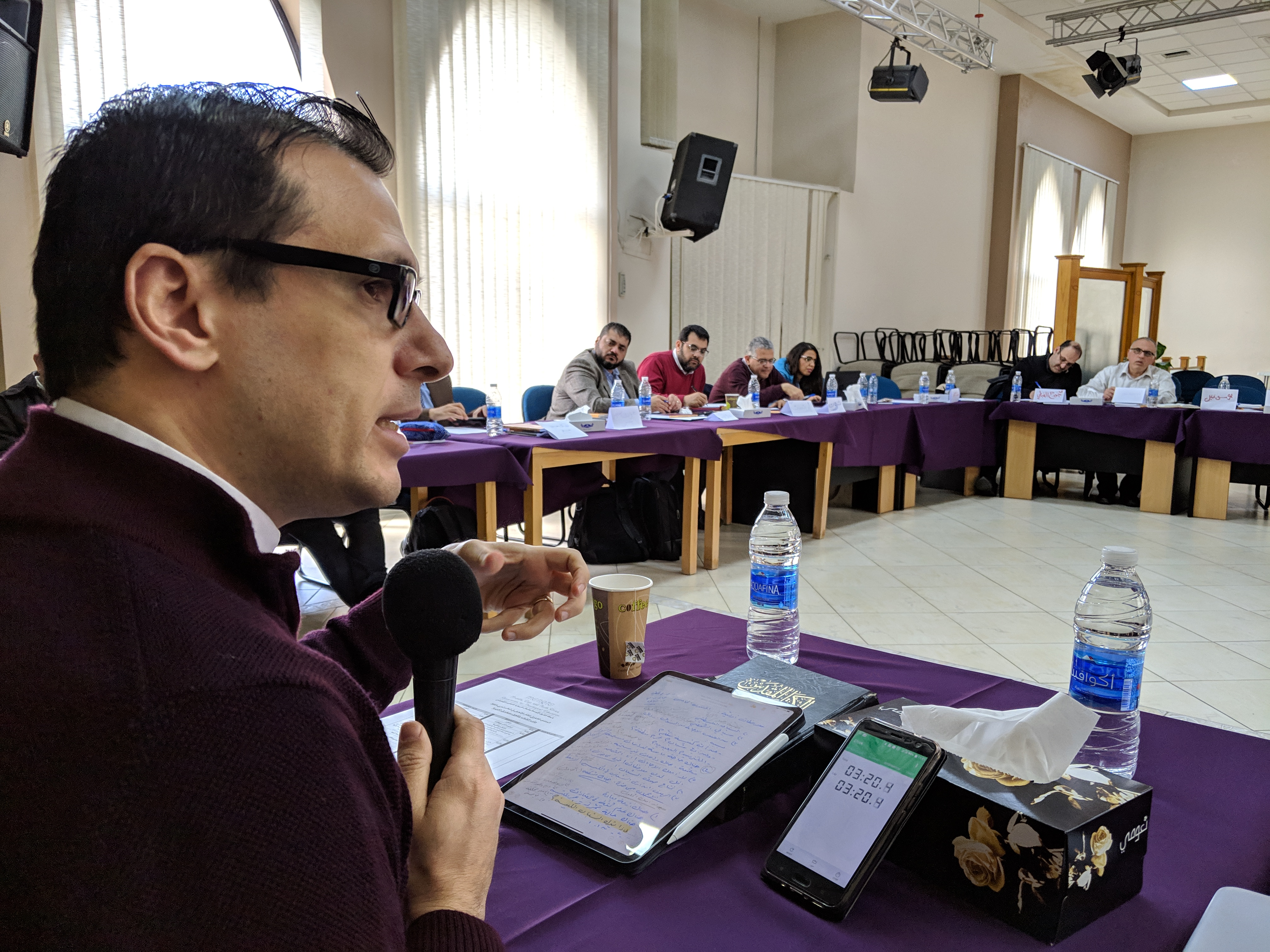 Bethlehem Bible College Participates in the Theological Forum for Evangelical Thought in the Arab World