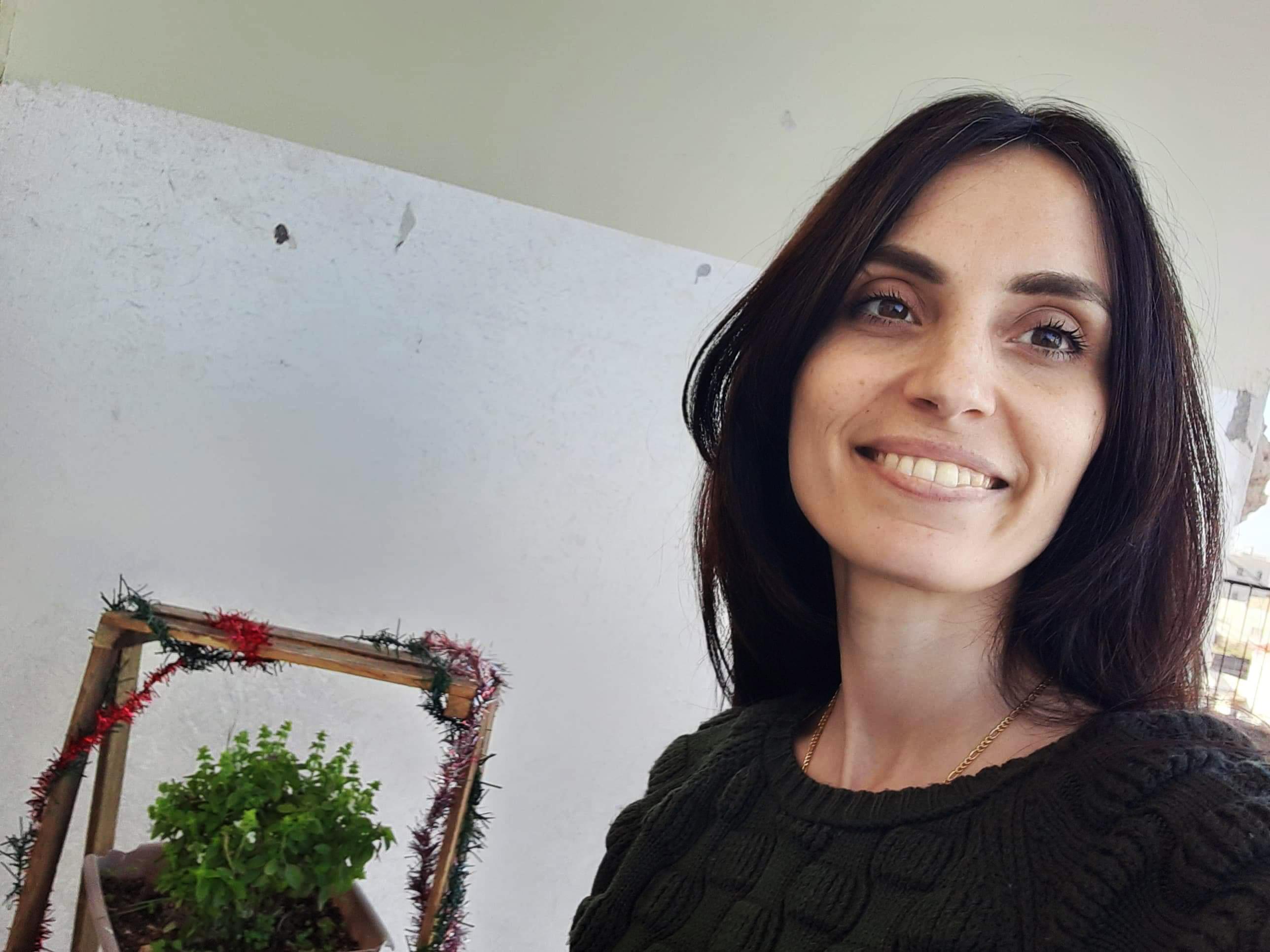 Meet Marsail Al-Jilda our Student from Gaza