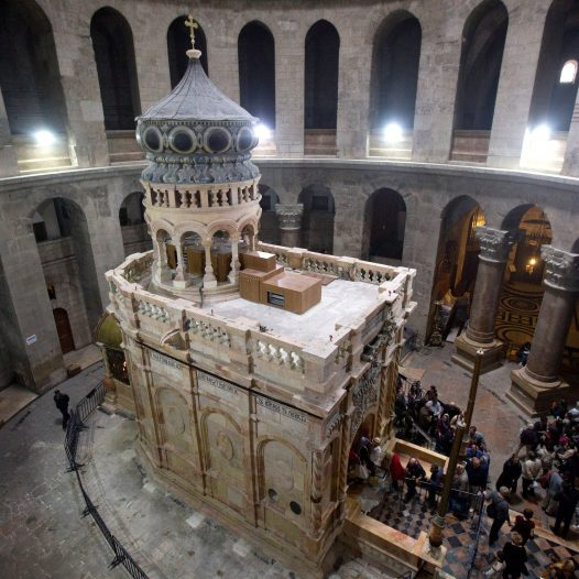 Holy Sepulcher: The Tomb of Jesus