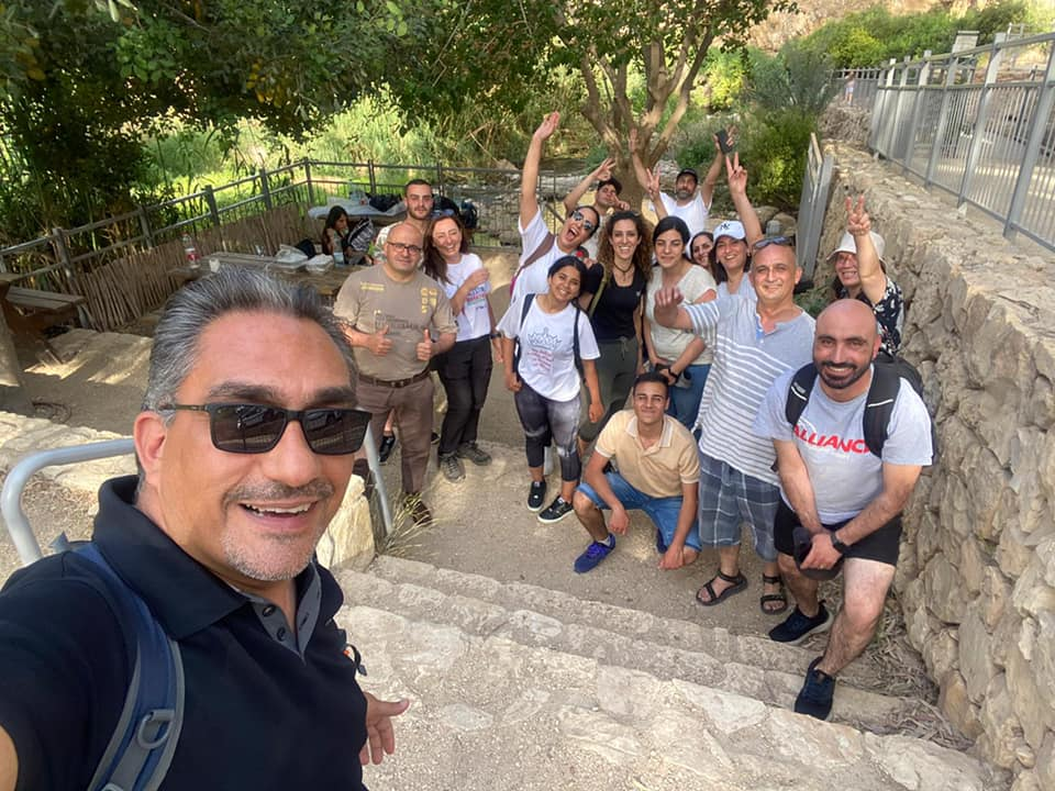 Our Students' Annual Retreat in the Heart of the Palestinian Nature!